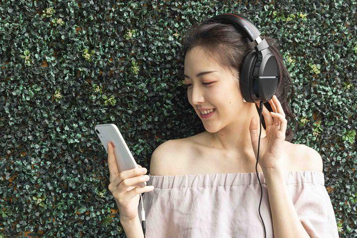 GH510 獲得了 Hi-Res 高解析認證,在播放高解析音源時,可以還原出更多聲音細節。