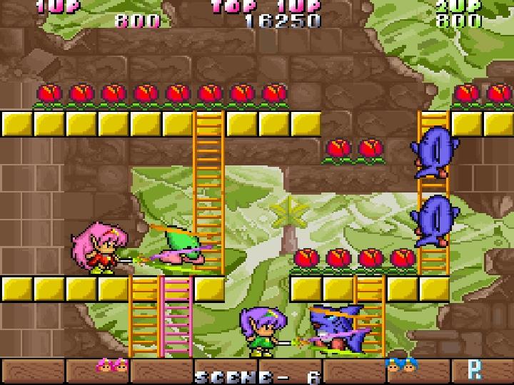 玩家除了可以透過關卡�既有的樓梯移動,還可以自己架�樓梯,增加不少機動性。