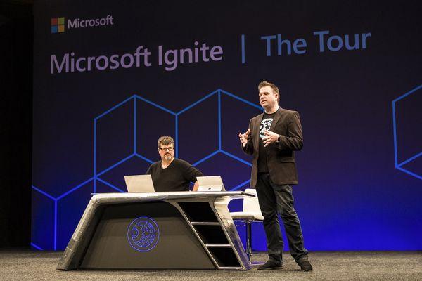 微軟IT年度盛會Ignite The Tour 2月登台,全程免費