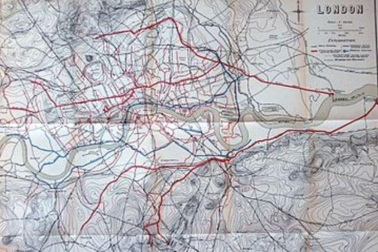 現代倫敦的下水道系統