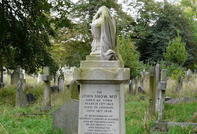 約翰·雪諾墓碑