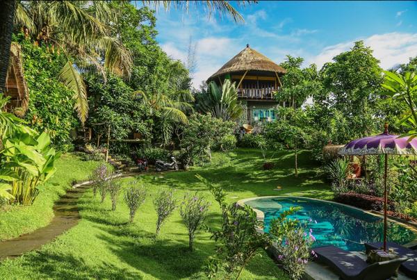 2015 年:印尼峇里島峇里林間私人樹屋 (Balian Treehouse)/心願單收藏次數:27 萬 1,887 次