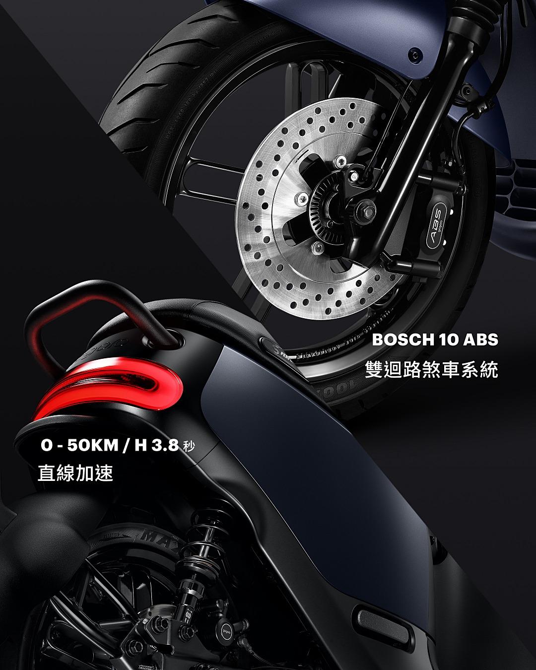 Gogoro 更新性能款 ABS 車型,推出石墨灰 Gogoro S2 ABS 與 S2 Café Racer ABS