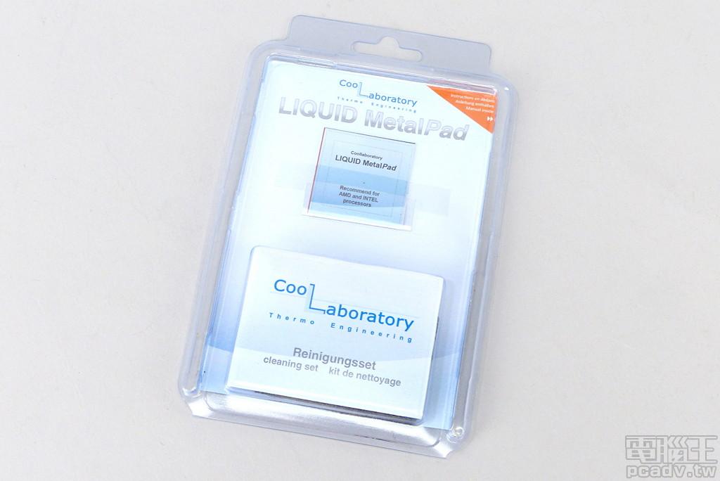 除了液態金屬散熱膏,部分廠商也會調整合金材質,推出在室溫下呈現固態的散熱膏「片」,安裝後須燒機至一定溫度才會熔化。由於不含鎵,因此也可以使用在鋁散熱器。