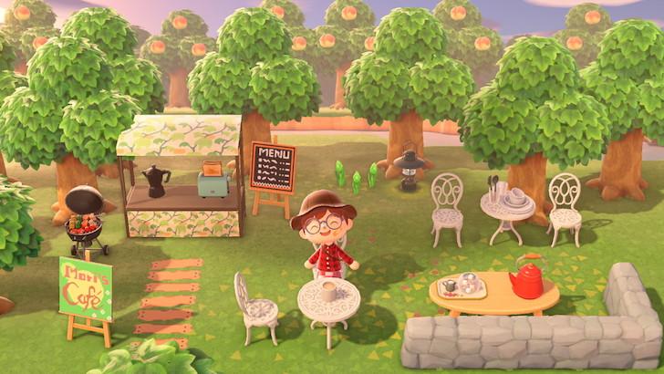 露天餐廳是目前相當容易做的景觀。
