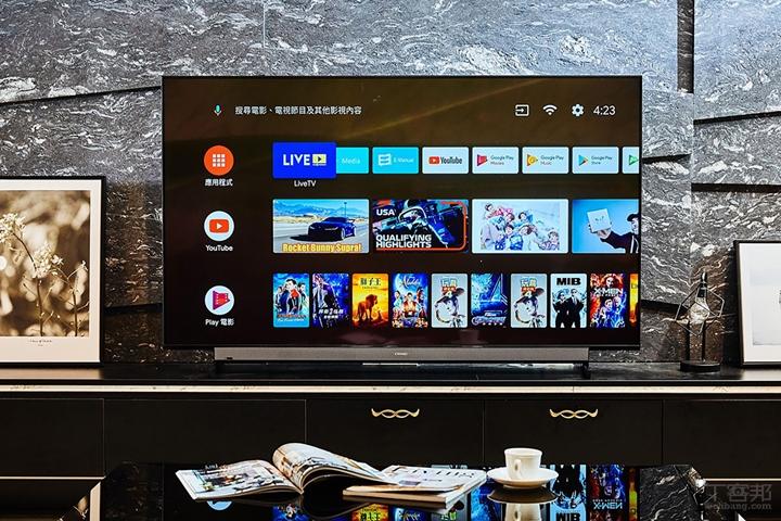 奇美 R5 系列電視為國內首家獲得 Google 官方授權搭載 Android 9。