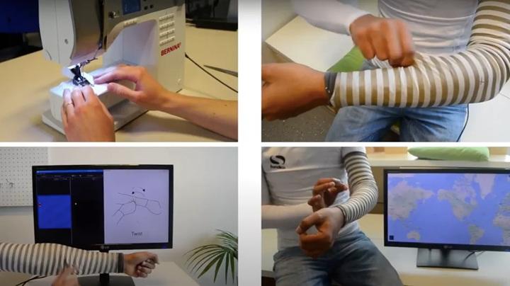 SmartSleeve是一個高科技紡織專案。