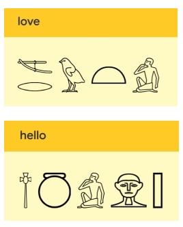 用機器�習解碼古埃及象形文�解一下,包�不包會