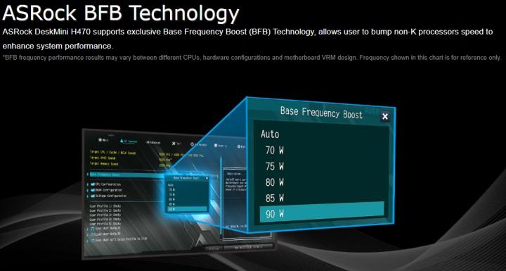 它也支援ASRock獨家BFB超頻技術,讓非K處理器也能超頻。