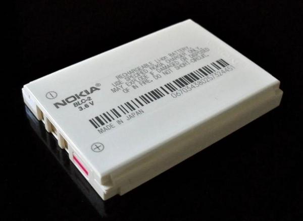 5110使用的锂电池。图/Wikipedia