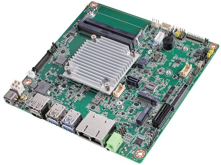 AIMB-218是搭載輕省處理器的Mini-ITX嵌入式主機板。