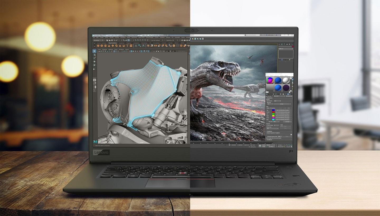 ThinkPad P 系列行動工作站正如其名-具備高彈性的行動力,又有工作站等級電腦的高效能。