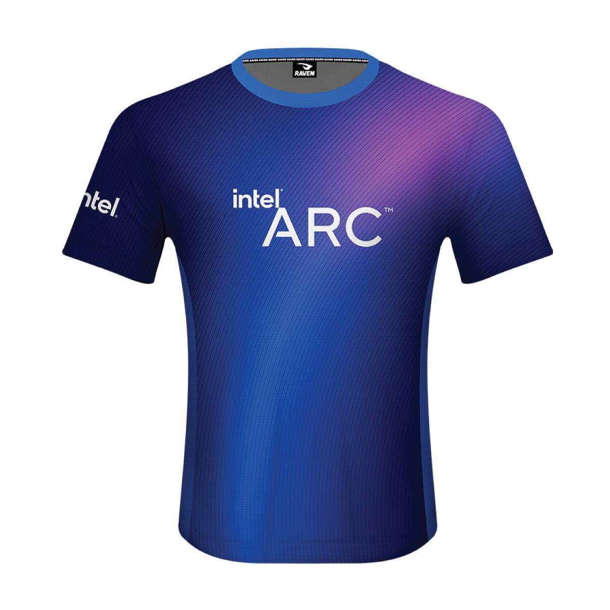 玩家已經等不及了嗎?現在就可以到Intel官方網站購買Arc造型T-shirt。