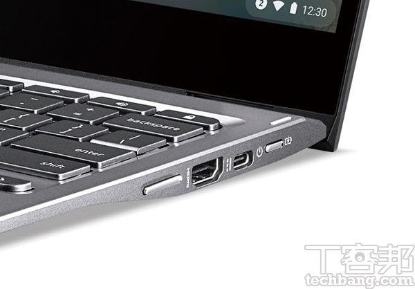 通過 Intel Evo 平台認證的 Chromebook,也會配置 Thunderbolt 4為輸出入埠。