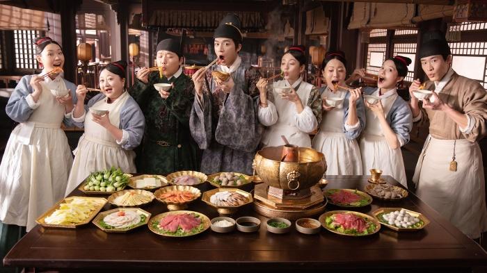 《珍饈記》(Delicacies Destiny)是一部華語時代劇,是資深製片人于�繼在《延禧攻略》大獲成功後,最新的一部美食浪漫喜劇,將於今年底上架。