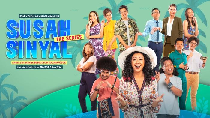 改編自同名熱門電影的《壞信號》(Susah Sinyal或 Bad Signal)是一部喜劇影集,講述了一群酒店員工在西爪哇管理一間高級度假酒店時發生的故事。